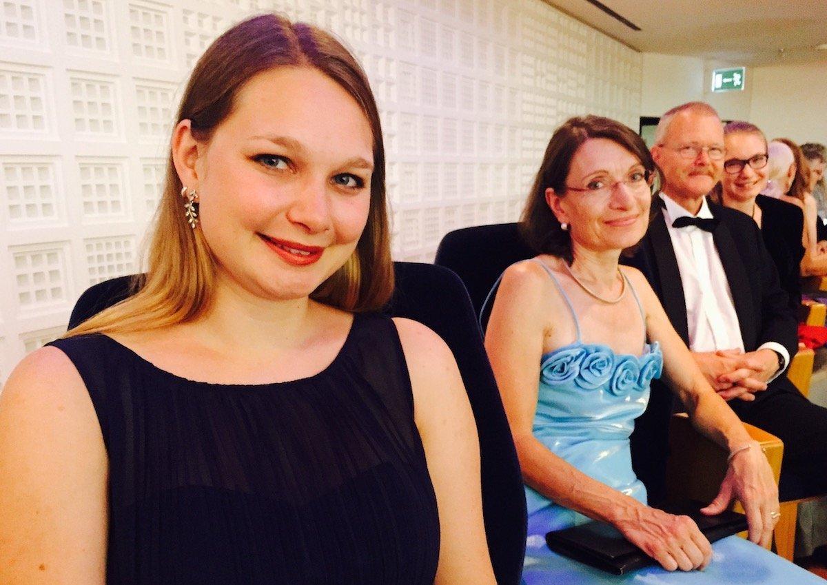 Zuerst Tanzen, dann «Tatort»: Familie Alder mit (von links) Katrin, Heidi, Ernst und Eliane.
