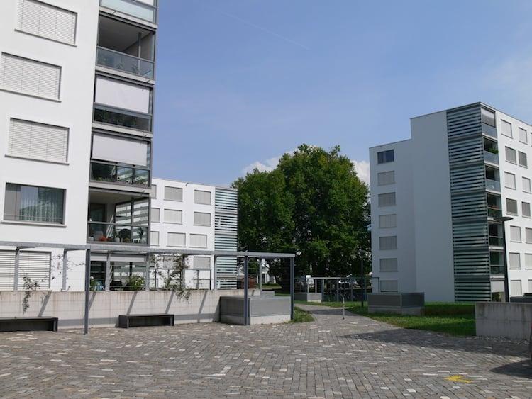 Die Überbauung «Schönbühl Park» wurde 2014 fertiggestellt und gibt einen Vorgeschmack darauf, wie die «Schönbühl Allee» dereinst aussehen wird.