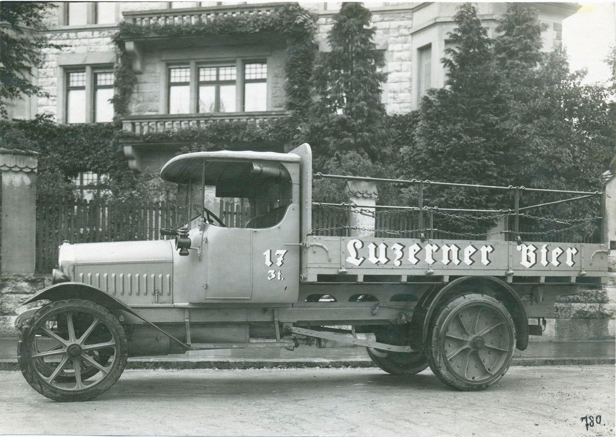 Luzerner Bier-Lastwagen, undatiert