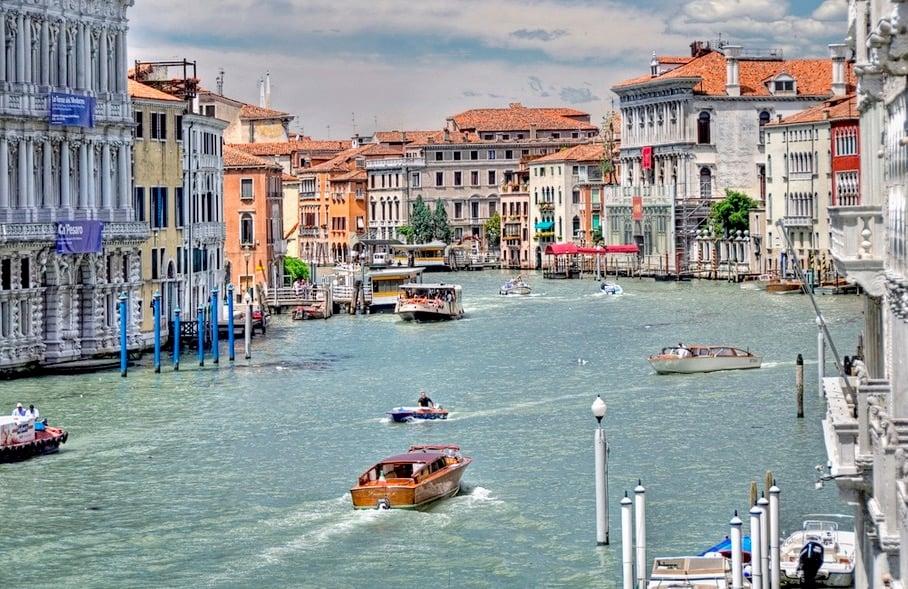 Nach Venedig kann man neu mit Flixbus reisen.
