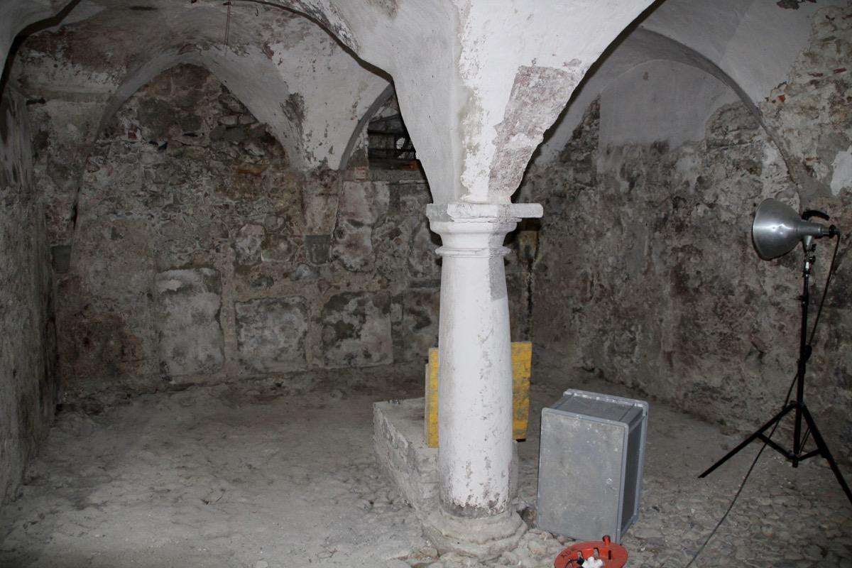 Bisher wurde dieser Teil des Hauses nur als Stauraum genutzt. Künftig soll dieser Keller jedoch auch Bar-Gästen zugänglich sein.