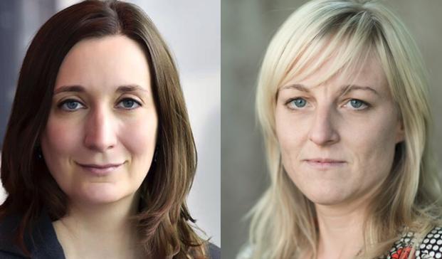 Nina Steinhart (links) von «Lucerne Festival» ist «stolz»; Michaela Eicher findet die Kommunikation nicht nachhaltig.