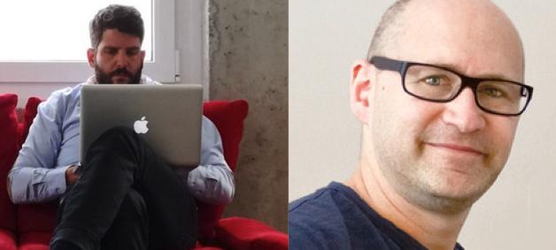 Andreas Troxler (links) stellt die Kernaussage in Frage; Silvan Kaeser betrachtet die Konzeptidee als «nicht revolutionär».