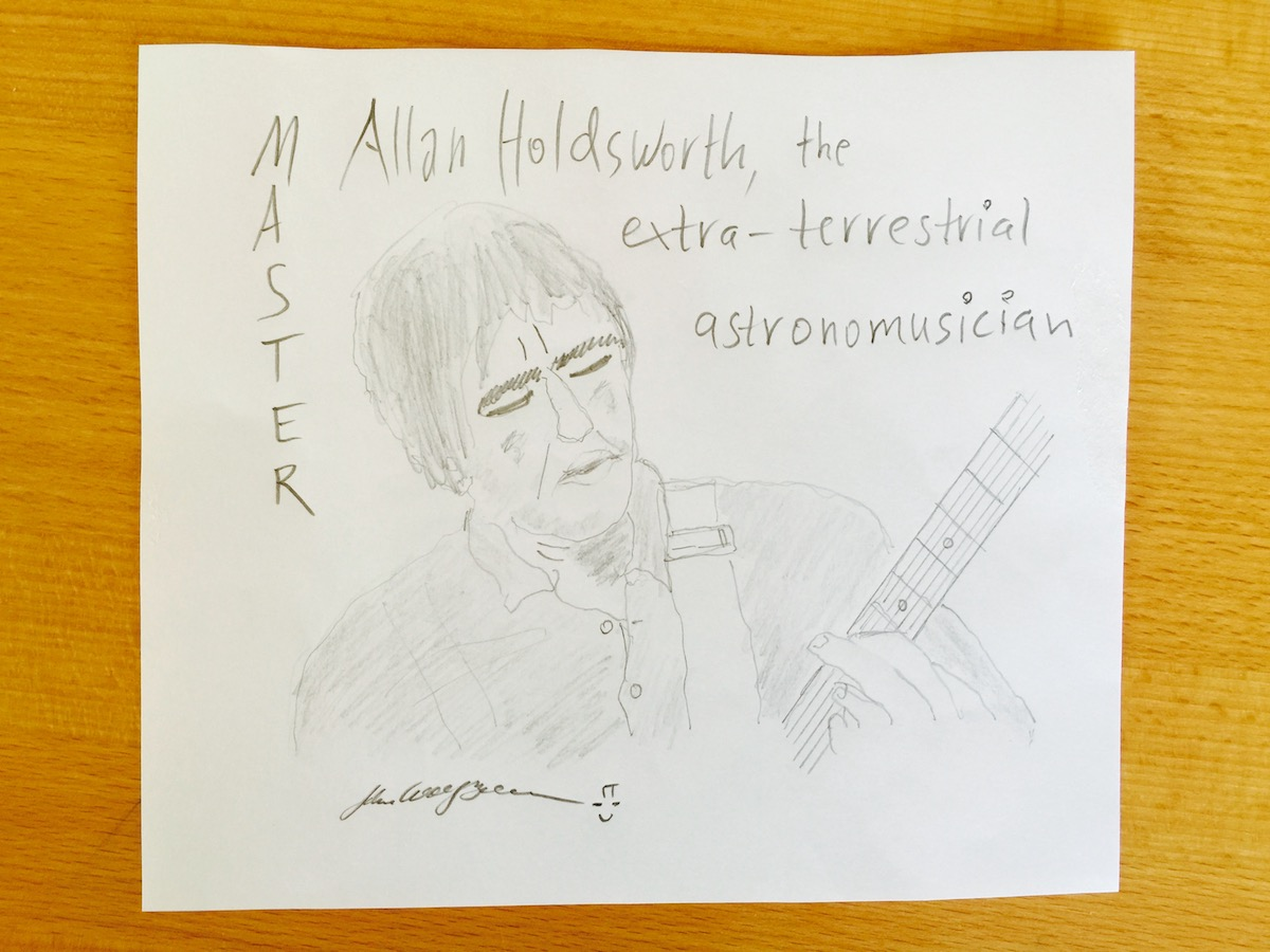 AllanHoldsworth by John Wolf Brennan.