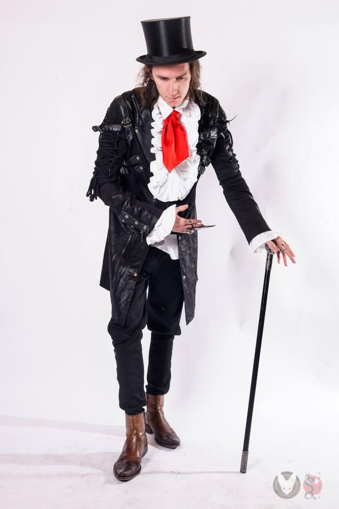 Patrick Amrhein kleidet sich gerne viktorianisch. (Bild: Jackal Cosplay Photography)