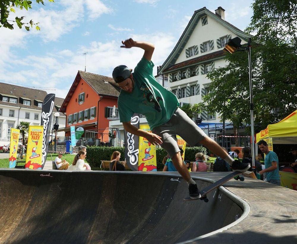Dürfen traditionell am Festival nicht fehlen: Die Skater.