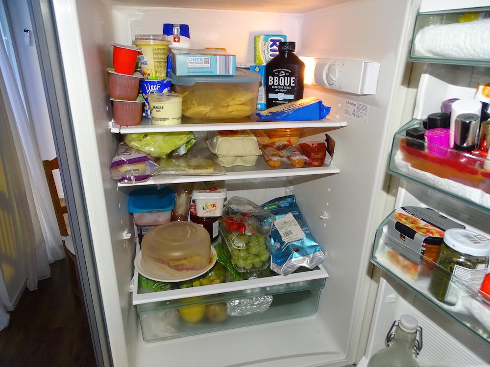 Der Kühlschrank der Familie Linder.