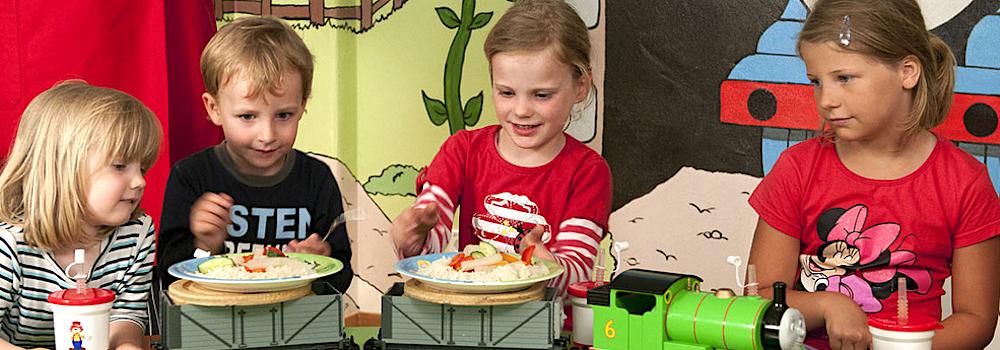 Schmeckts ihnen? Kinder sind die Restaurant-Kunden von morgen.