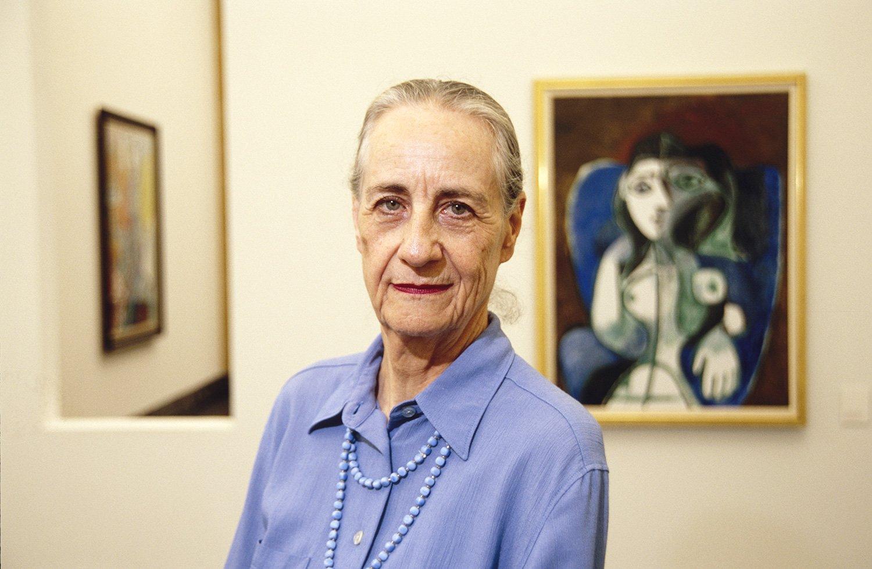Angela Rosengart in ihrem Museum.
