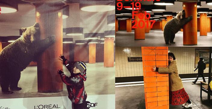 Der Velvet-Bär 2017 wurde Kult und machte auf Social Media Furore.
