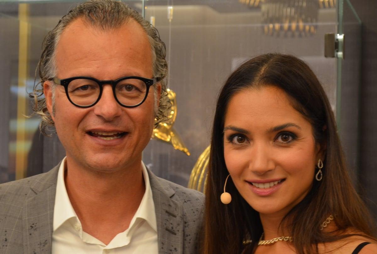 Medienmann Andy Wolf war Trauzeuge von Moderatorin Bianca Sissing, das ist auch ein Luxus.