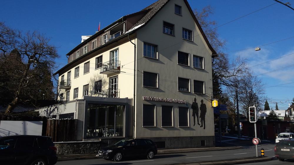 Das Restaurant Eichhof in Luzern.