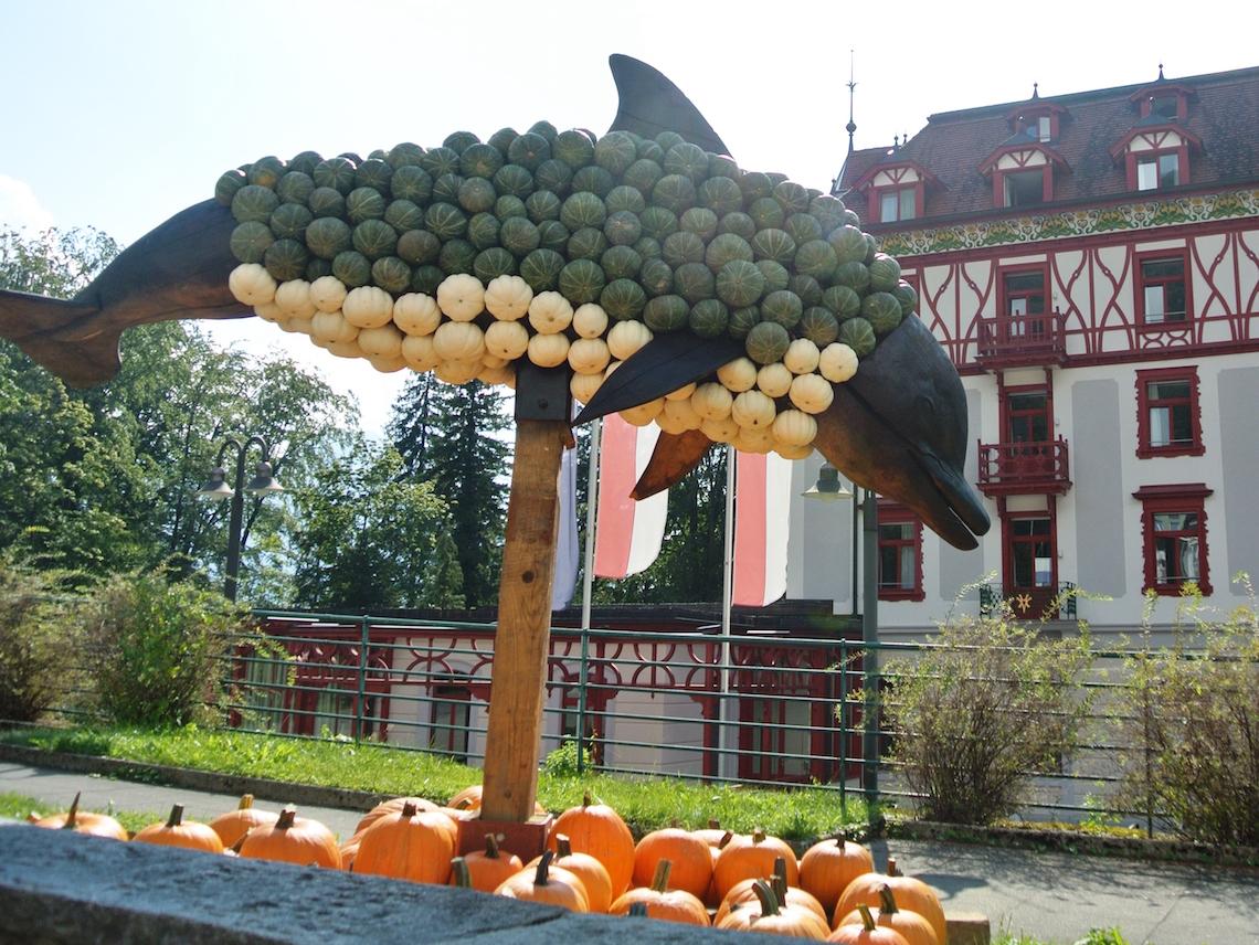 Das Hotel am Vierwaldstättersee. (Bild: zVg/Vitznauerhof)