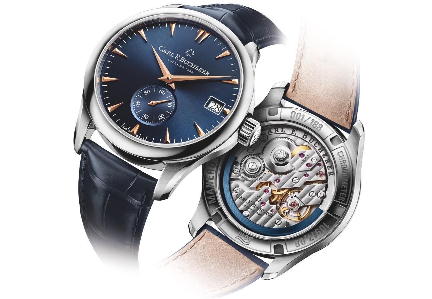 Die Manero Peripheral Boutique Edition – eine limitierte Uhr zur Eröffnung der eigenen Boutique.