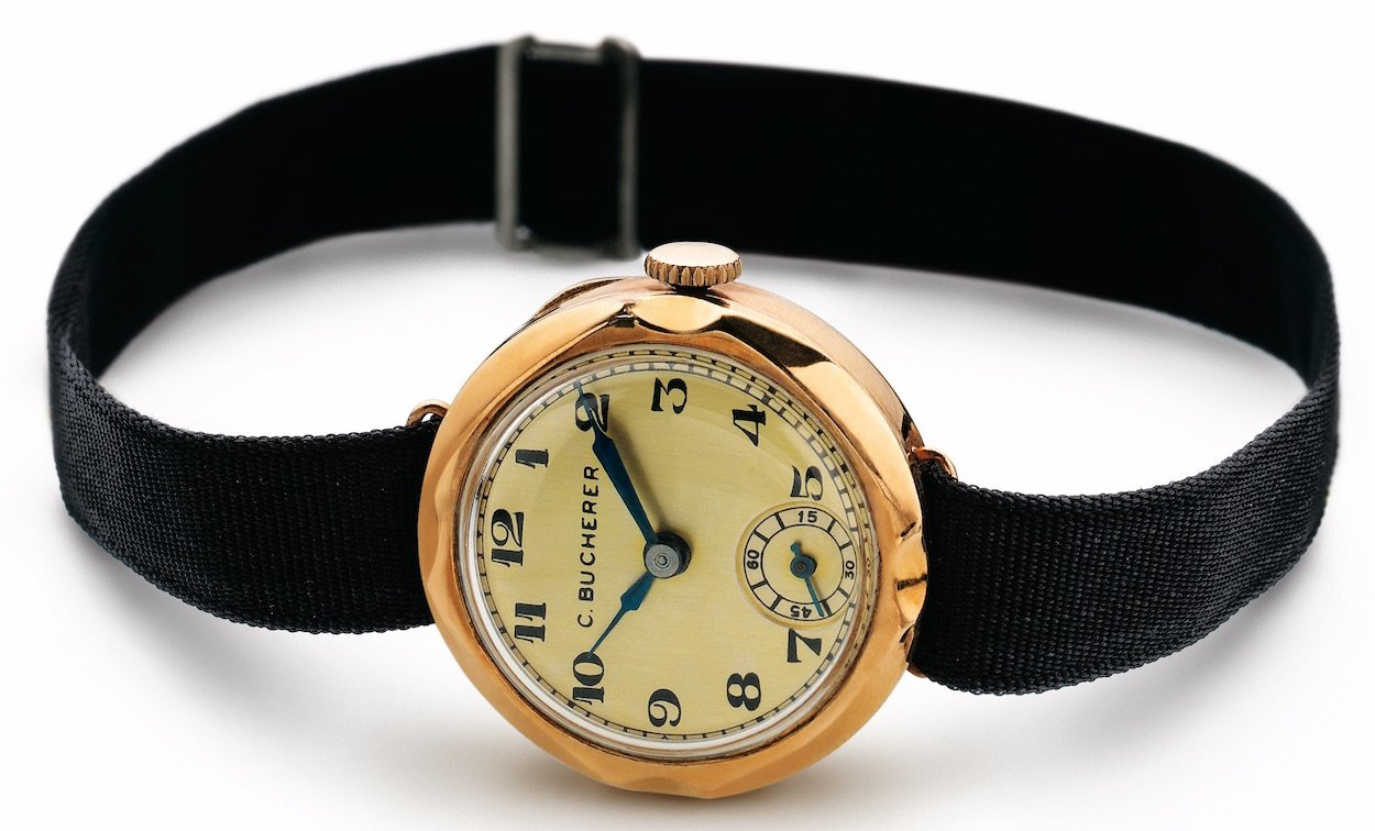 Runde Uhren kamen erst mit den automatisch aufgezogenen Uhren so richtig auf.