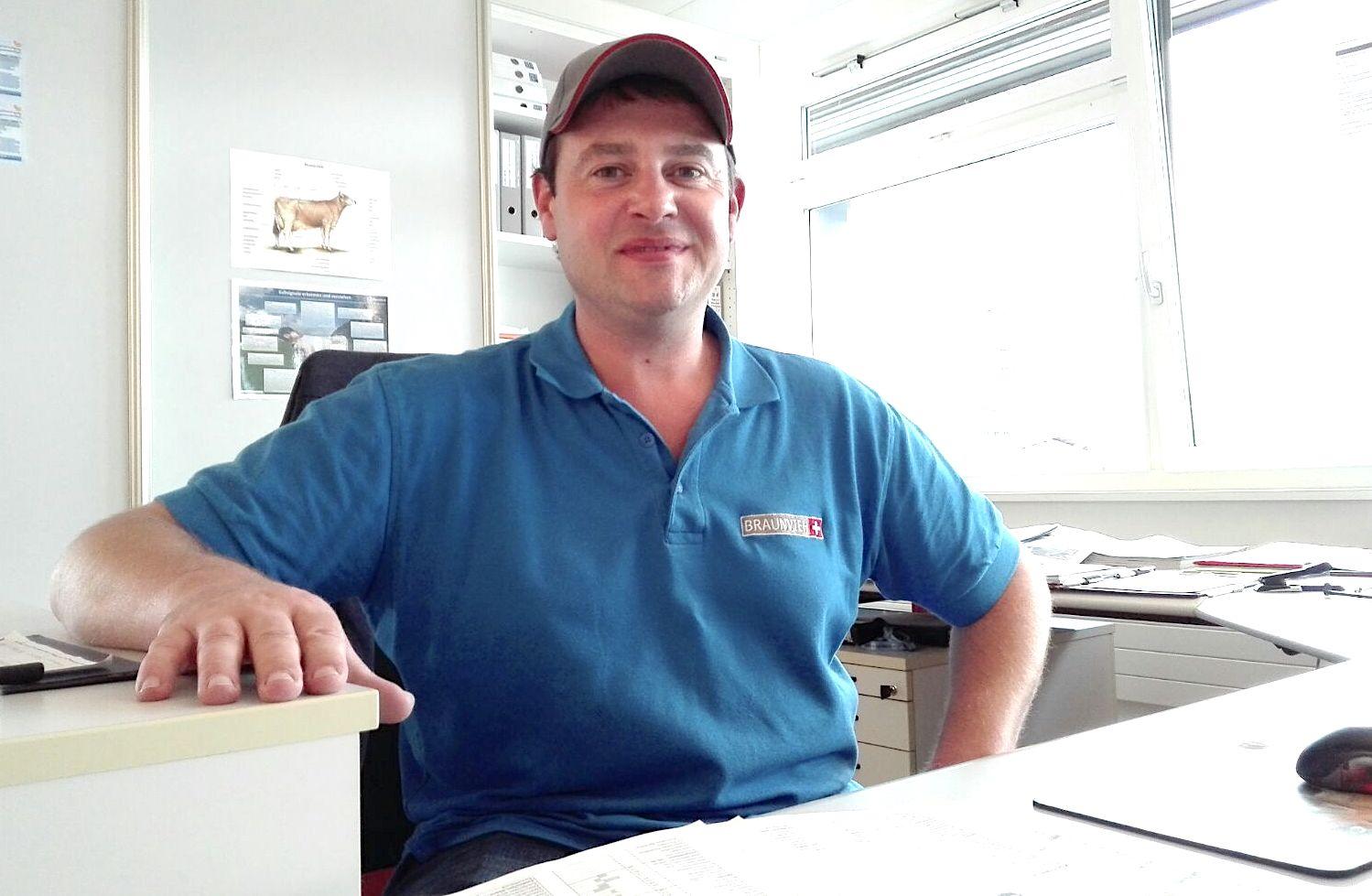 Stefan Hodel, Chefexperte beim Schweizerischen Braunviehzuchtverband.