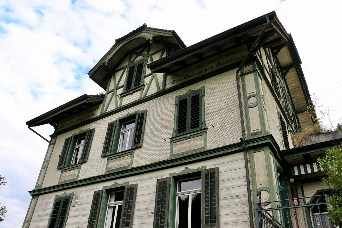 Das geschichtsträchtige Haus war Ineichens Wohn- und Arbeitsort während der letzten 30 Jahre.
