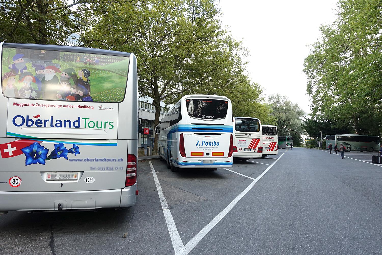 Streitpunkt bei der Inseli-Initiative: die 26 Carparkplätze an zentralster Lage.