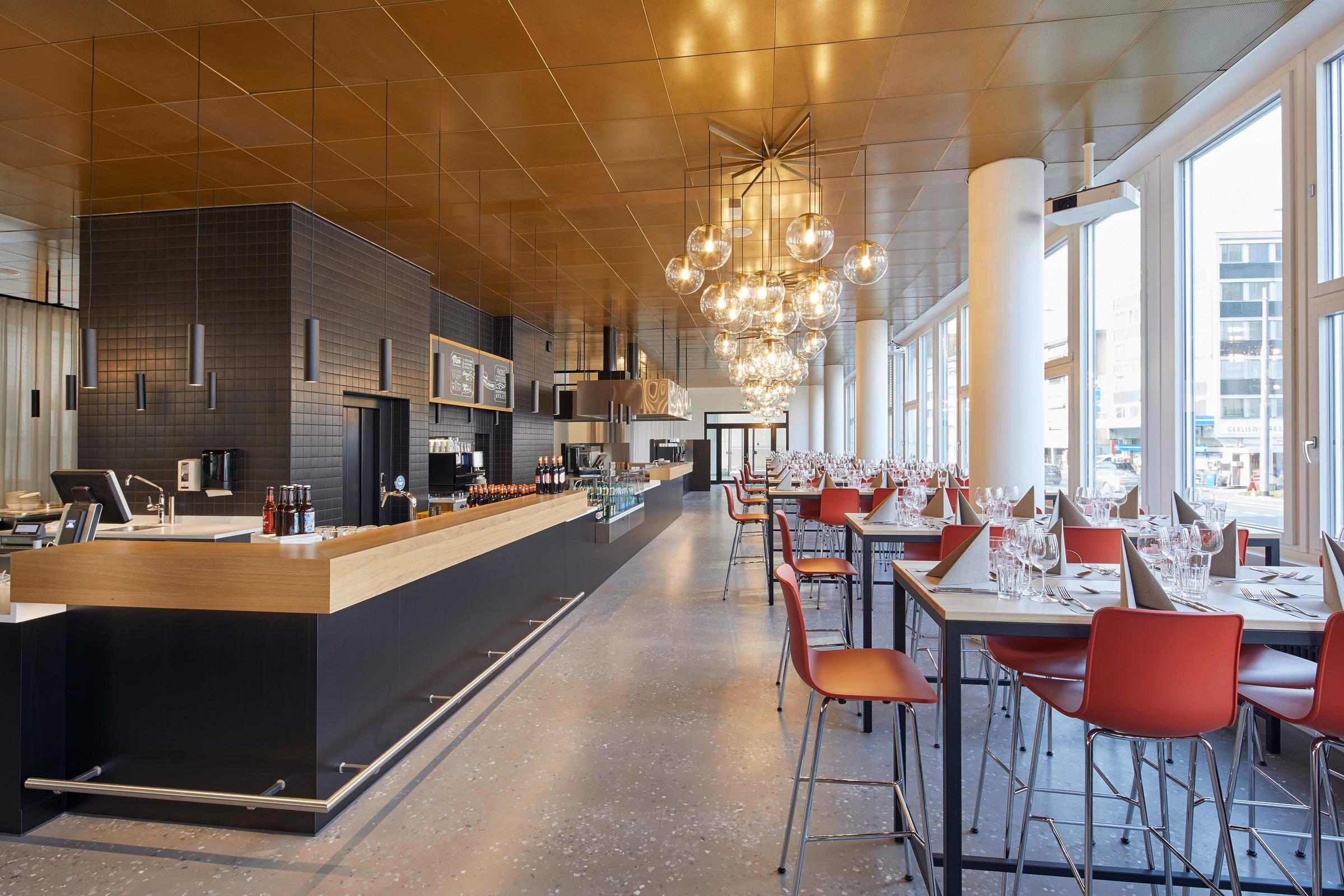 Blick ins neue Restaurant «Nylon 7».