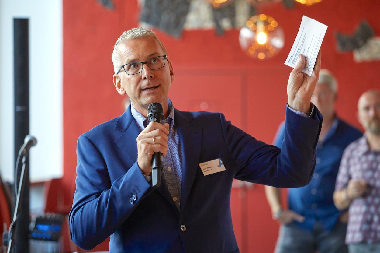 Marc Pfister, Geschäftsführer der IG Arbeit, bedauert den erhöhten Druck auf die Mitarbeiter.