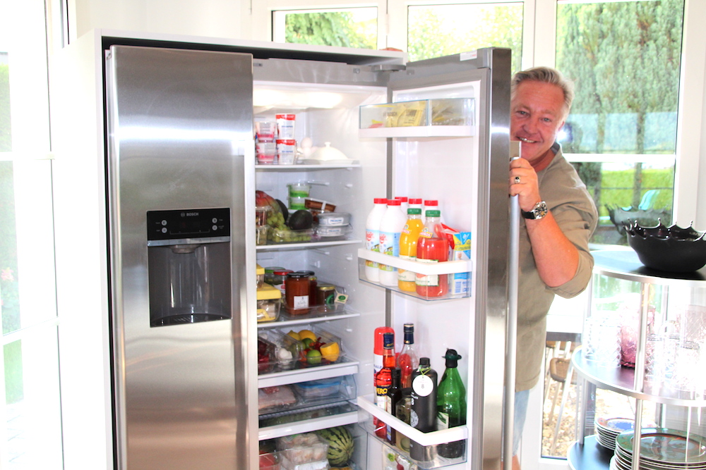 … erst eine Kühlschranktür …