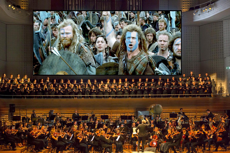 Auch die Filmmusik zu «Braveheart» stammt von James Horner.