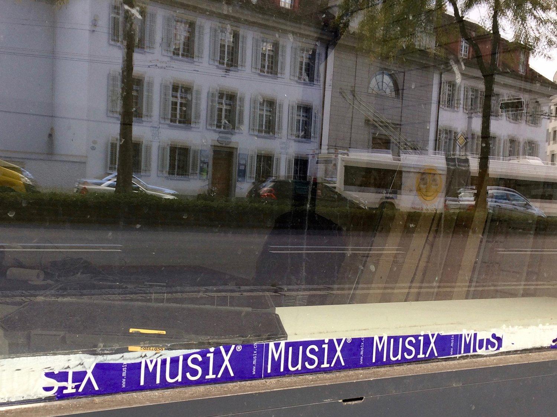 Letzte Reste am Lokal zeugen von «Musix».