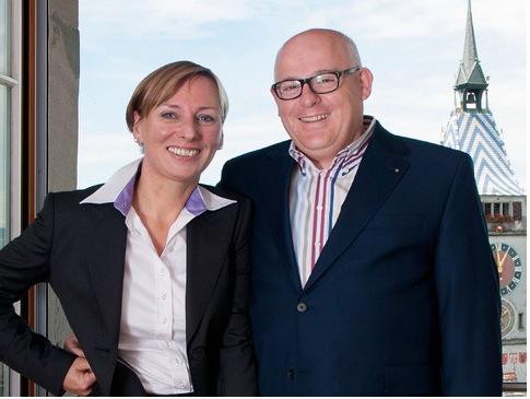 Matthias und Eveline Hegglin führen das City-Hotel Ochsen.