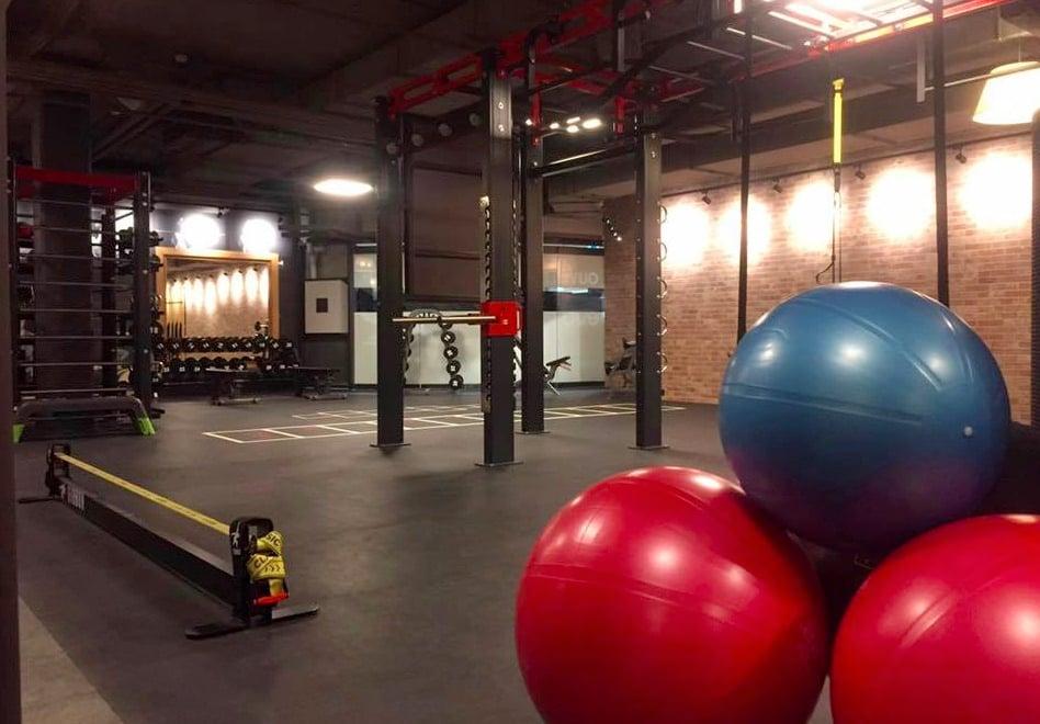 So sieht es in einem EVO Fitnesscenter aus.