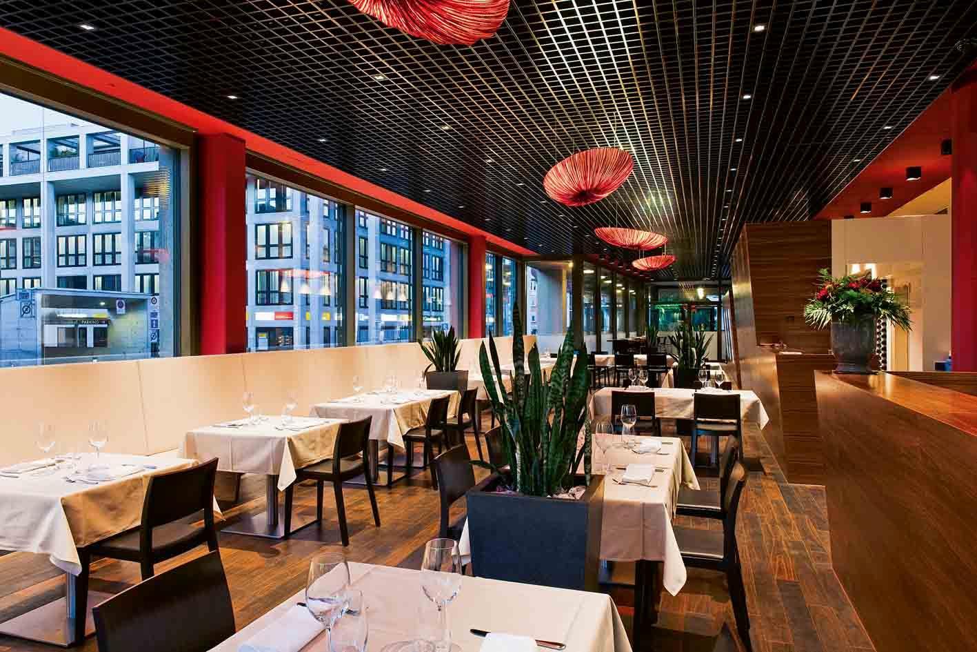 Blick ins Restaurant «amrein'S»