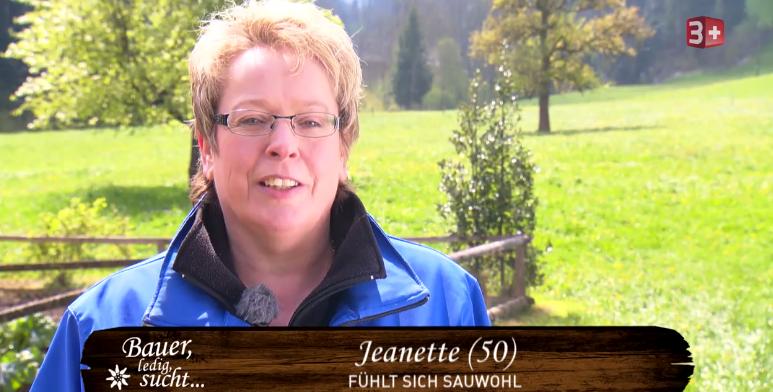 Objekt der Begierde: Jeannette aus Stans, die gerne arbeitet und auch mal tanzt.
