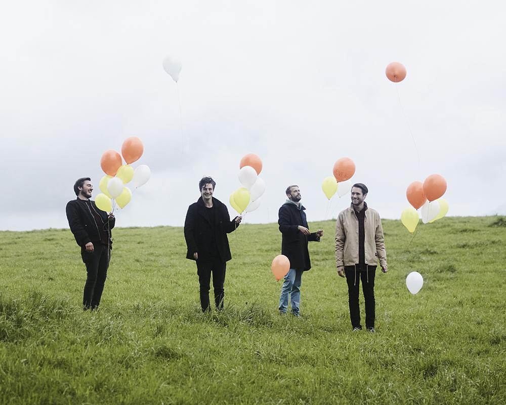 Die Band Cold Reading feiert am Freitag ihre EP «Sojourner».