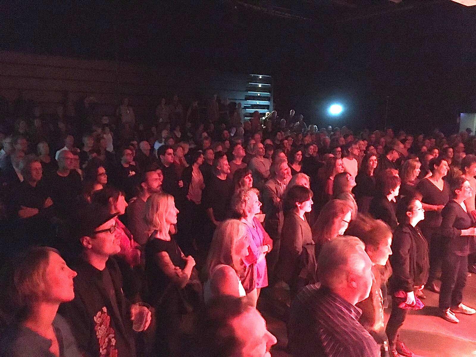 Das Publikum der Hösli-Party im Südpol.