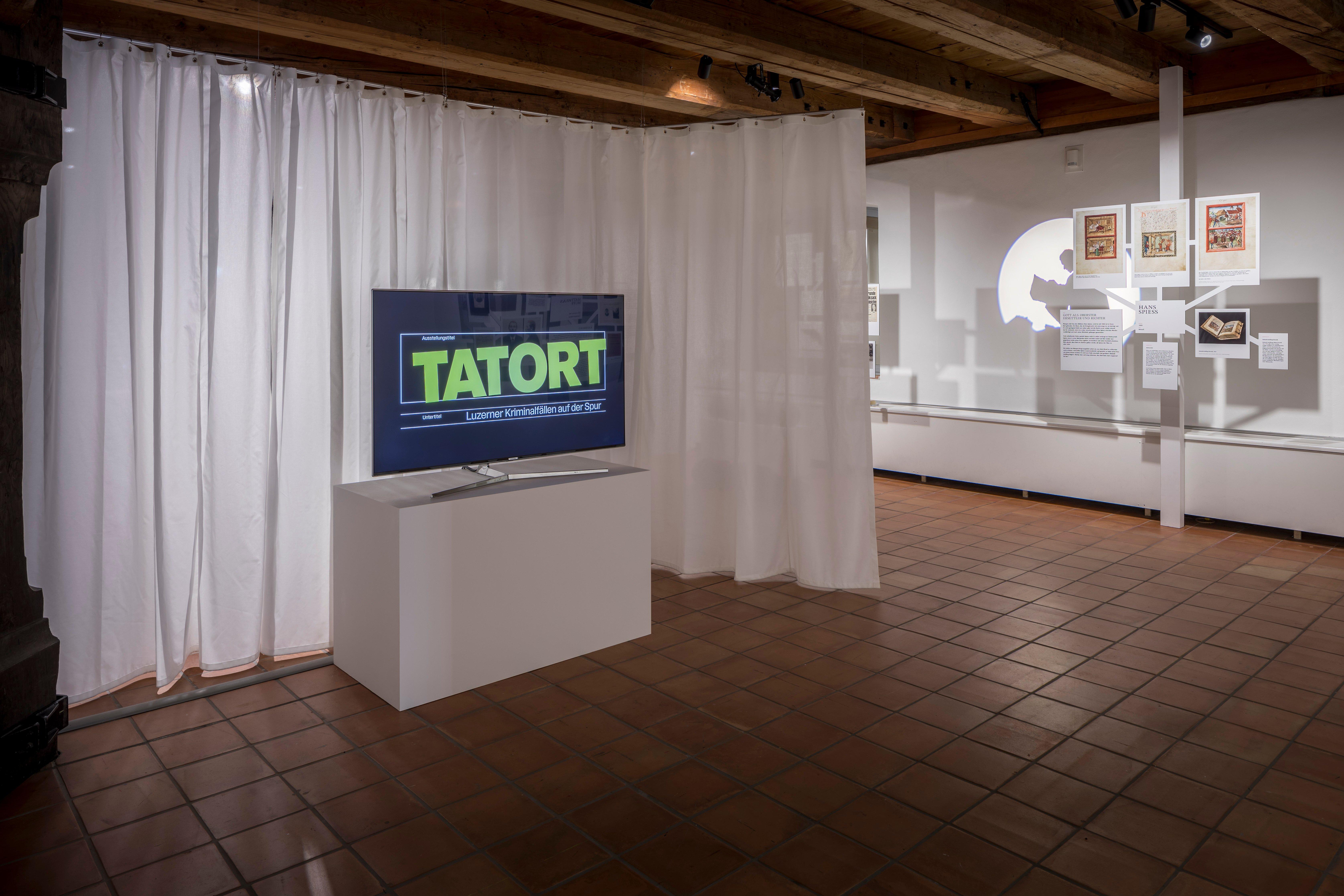 Die Theatertour zur Ausstellung «Tatort» führt das Publikum auf die Spur eines der schwersten Verbrechen in der Geschichte des Kantons Luzern.