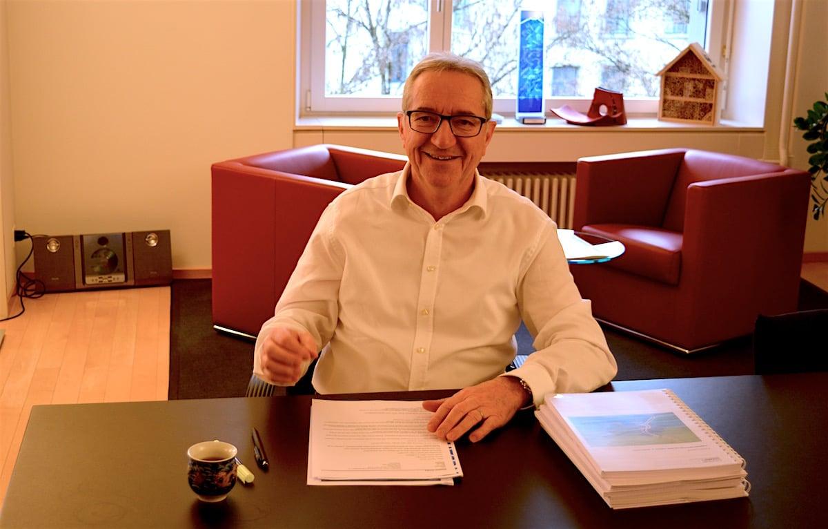 Regierungsrat Robert Küng freut sich über den Entscheid.