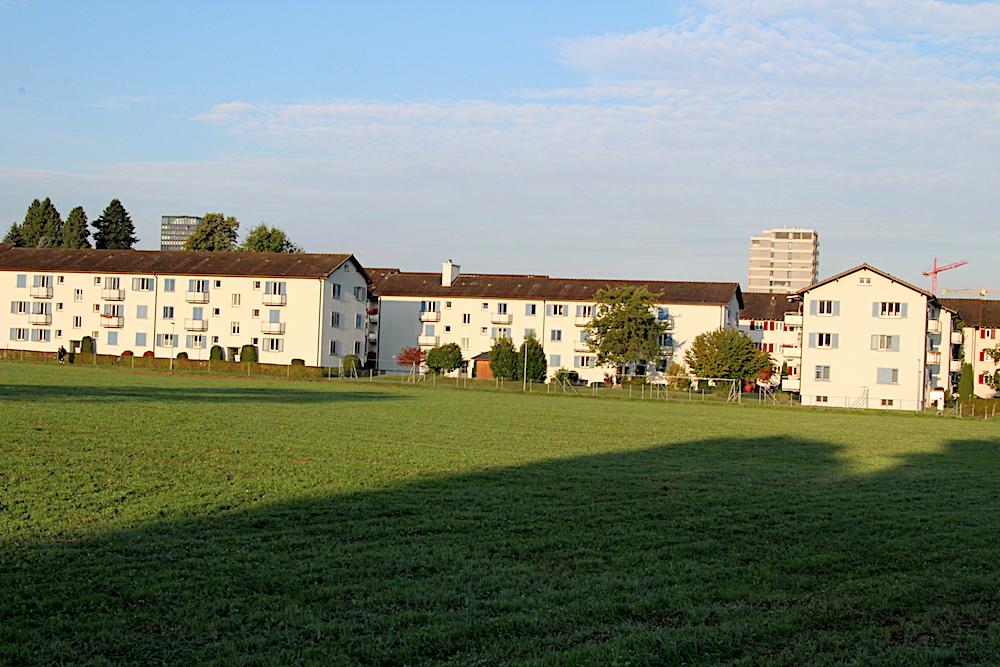 Der Abriss naht: Diese drei Häuserblocks aus den 50-er Jahren am Lauriedhofweg weichen 40 preisgünstigen Wohnungen bis im Herbst 2019.