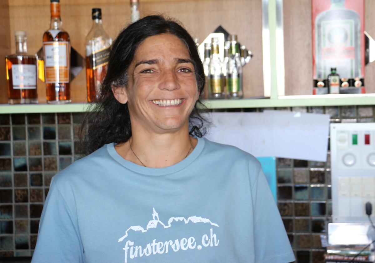 Corinne Kramer ist Vorstandsmitglied des Vereins Finstersee.ch und setzt sich dafür ein, dass die Schule im Dorf bleibt.