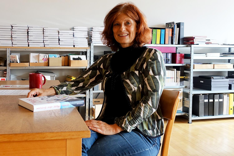 Die Mezekultur hat sie gepackt: Illustratorin Gabi Kopp.