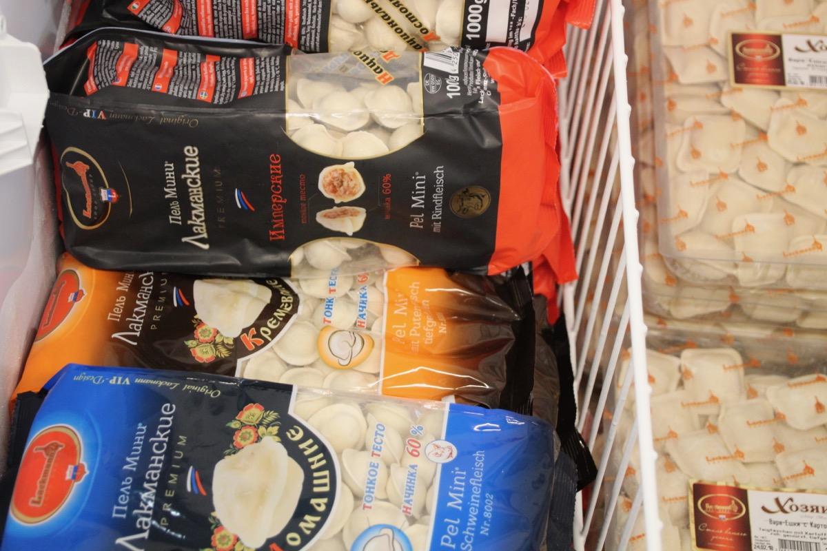 Eine Konkurrenz für herkömmliche Ravioli? Russische Pelmeni.