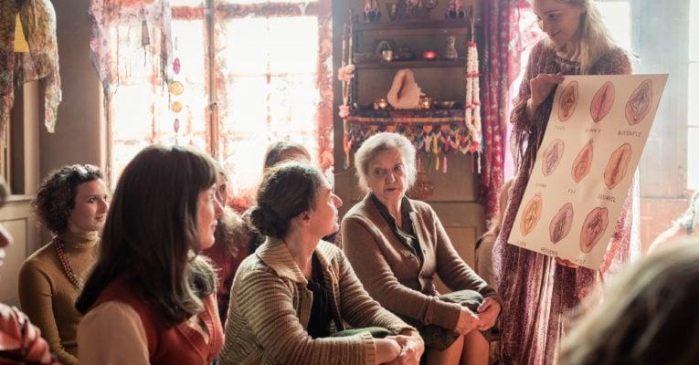 Aufklärerische Szene aus dem Film «Die göttliche Ordnung».
