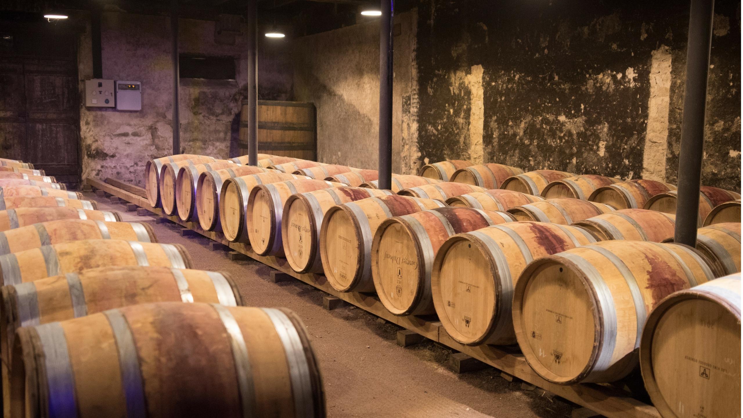 Das klassische Barrique in der Weinproduktion.