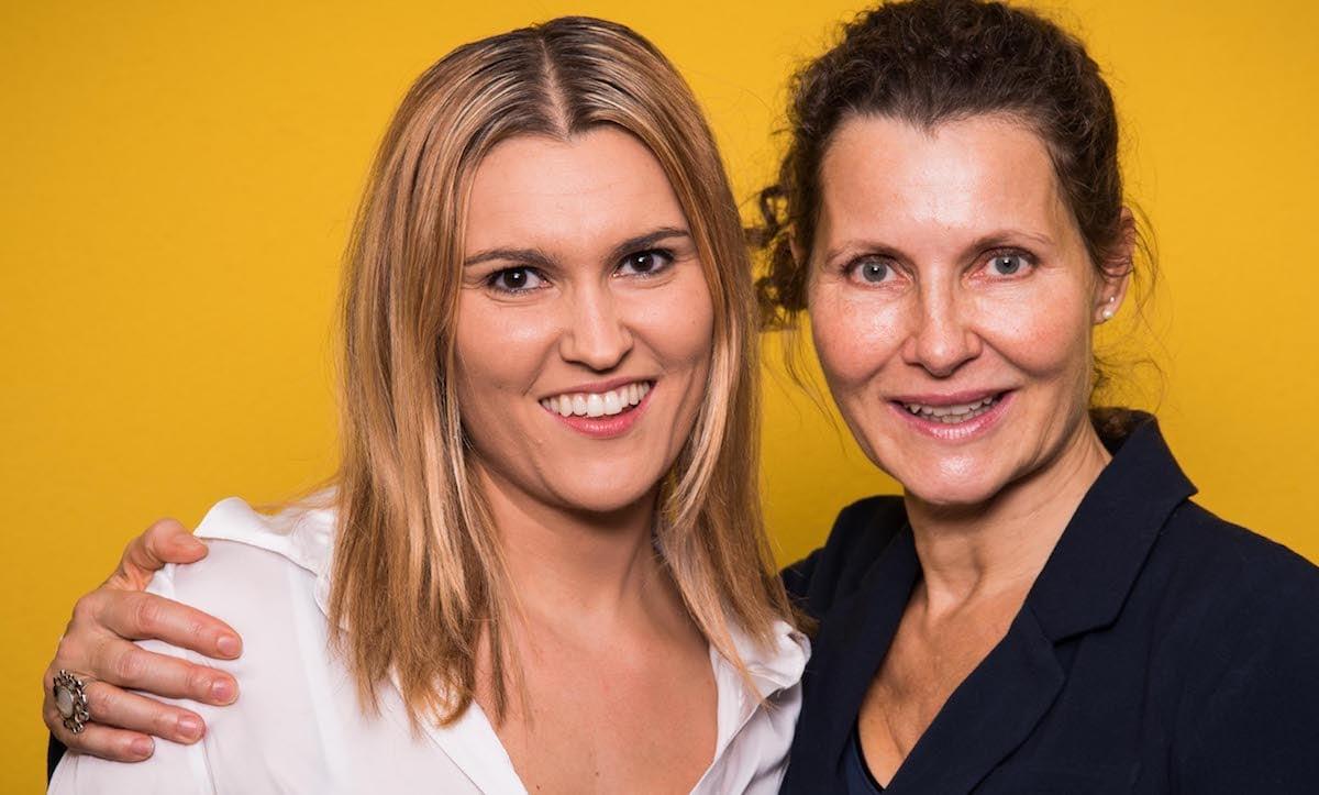 Theater-Harmonie: Passen bestens zu einander, Evelyne Aeschlimann und Regisseurin Franca Basoli.