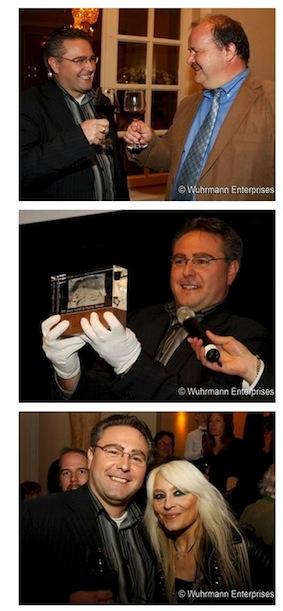 So präsentiert sich Bächler auf der Webseite des Liff in der Foto-Galerie des Festivals im Jahr 2011.