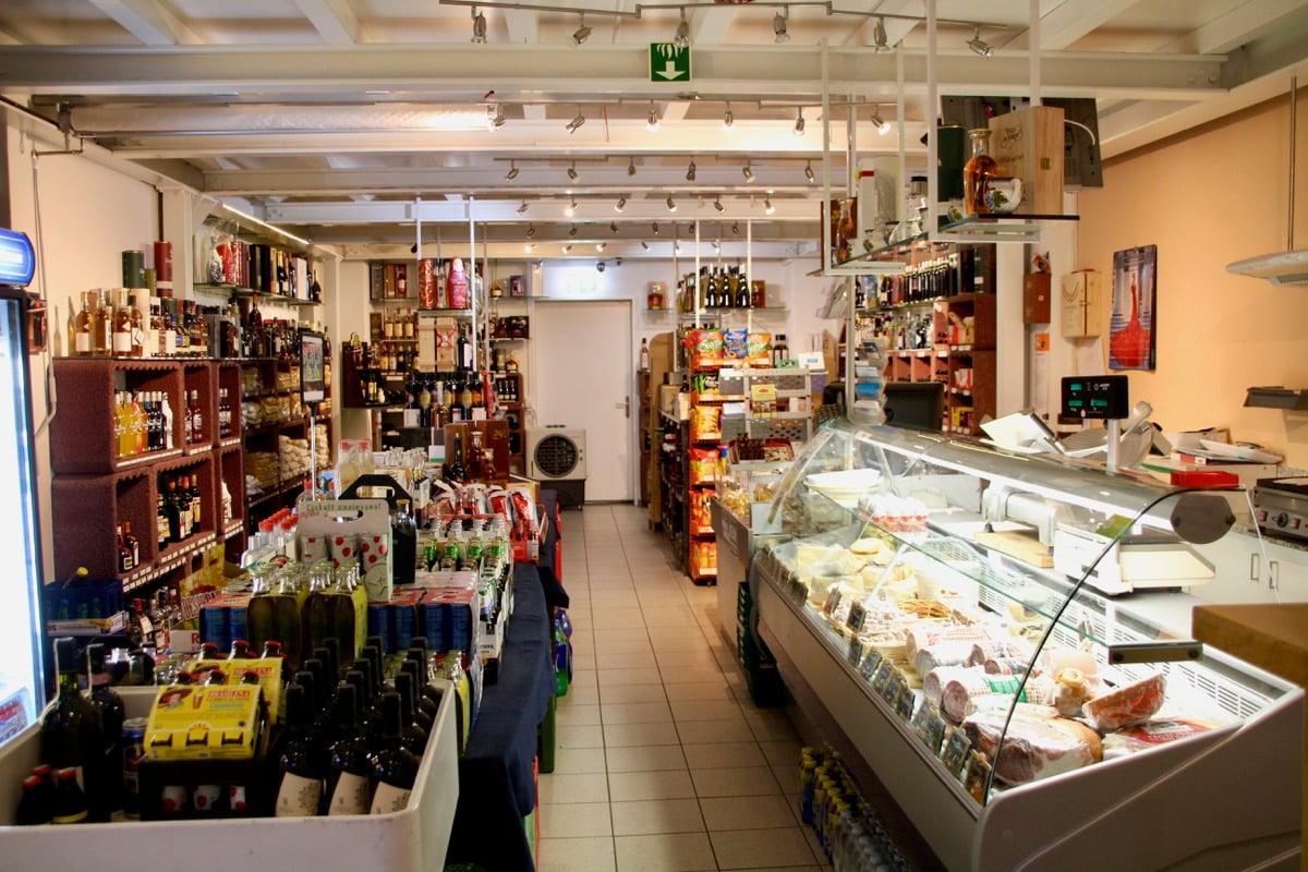 Ein wenig Italianità in Zug: das Geschäft Colicchio Vini