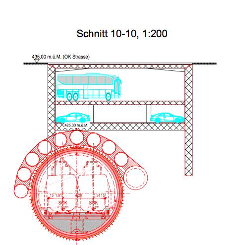 Ein Nebeneinander ist möglich, zeigen Pläne des Ingenieur-Büros Basler