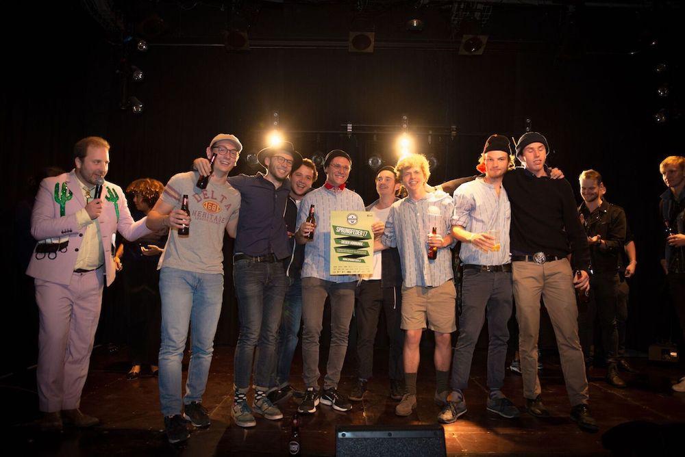 Auch die Luzerner «Orchester-Jungs» stehen im Bandcontest-Final.