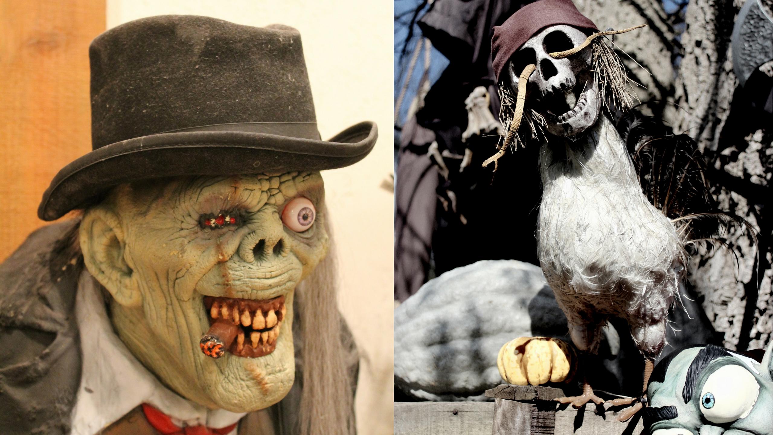 Grausige Gestalten haben Tradition an Halloween