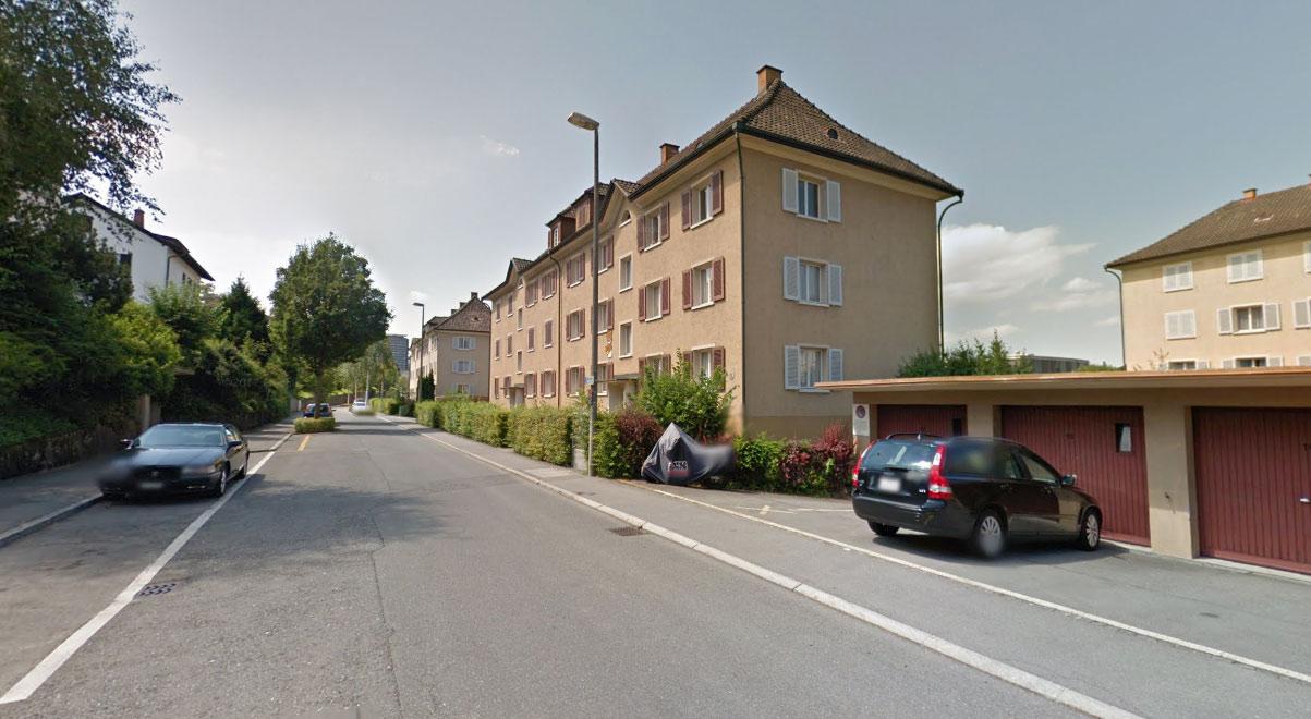 Die bestehenden Wohnhäuser an der Libellenstrasse werden abgerissen.