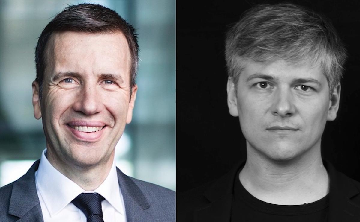 «Positionierung schärfen» will KKL-CEO Philipp Keller (links). «Anknüpfen ans Bestehende» sieht Kommunikations-Designer Cybu Richli.