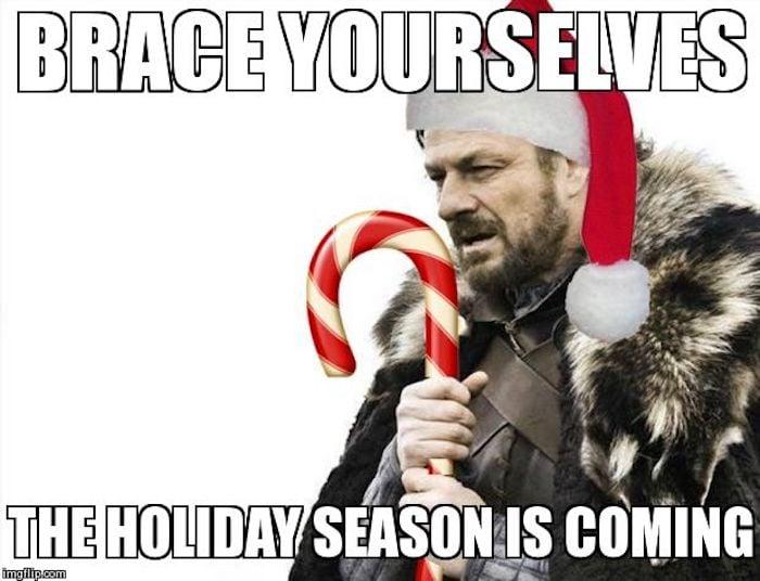 Obacht, es geht schon los: Weihnachten kommt um die Ecke.